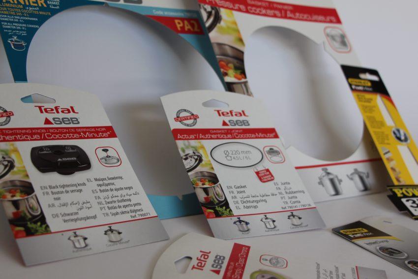 Skin pack et cartes blister pour la grande distribution