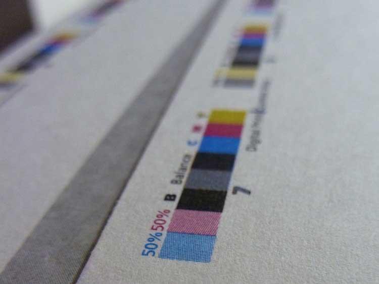 Impression repère couleur