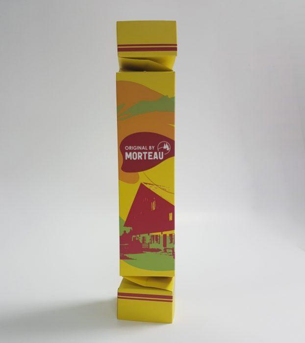 étui en carton compact bonbon